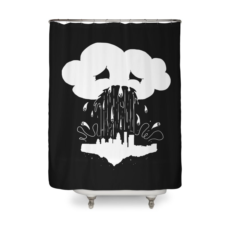 Cloudsick Home Shower Curtain by Maat Haas: The Shop
