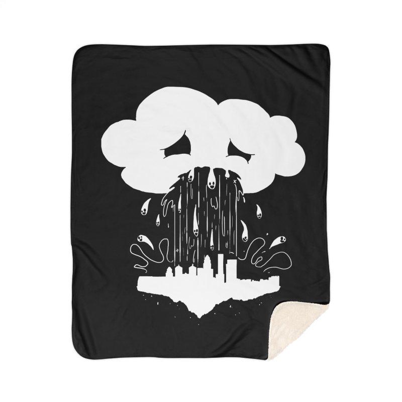 Cloudsick Home Sherpa Blanket Blanket by Maat Haas: The Shop