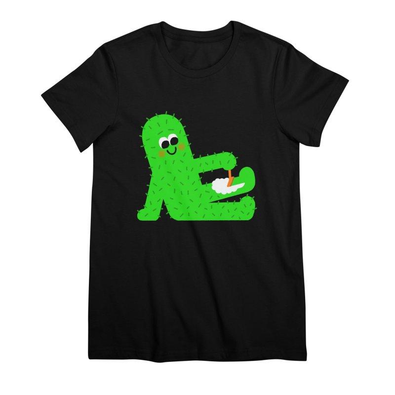 Spiky Legs Women's Premium T-Shirt by Mauro Gatti House of Fun