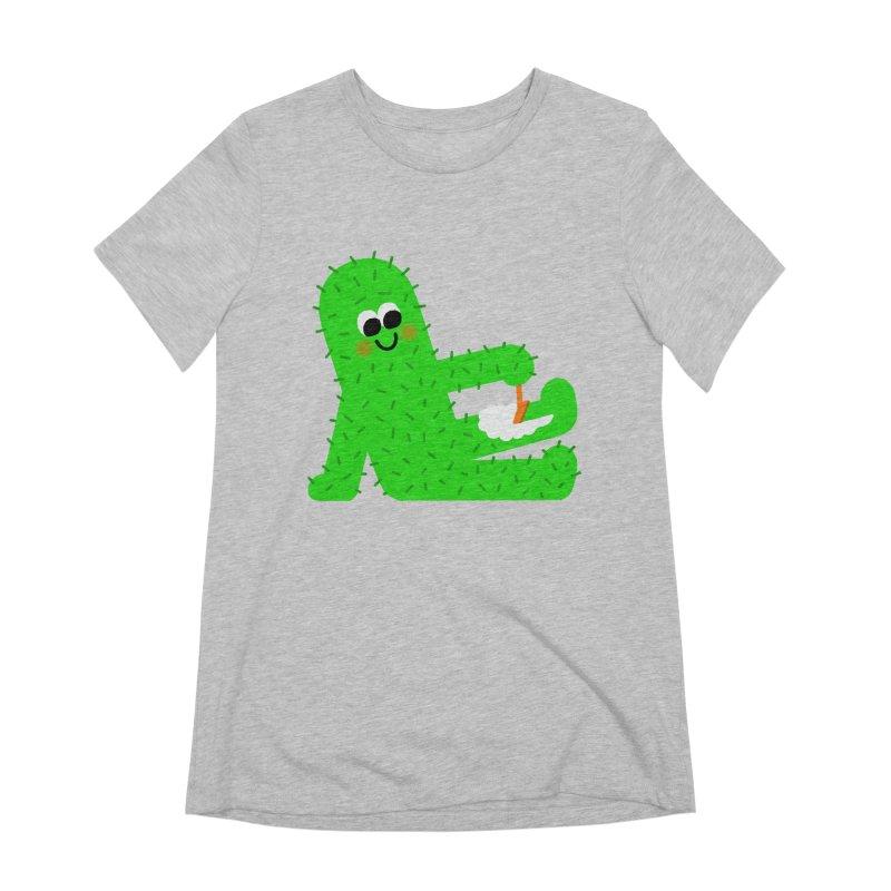 Spiky Legs Women's Extra Soft T-Shirt by Mauro Gatti House of Fun
