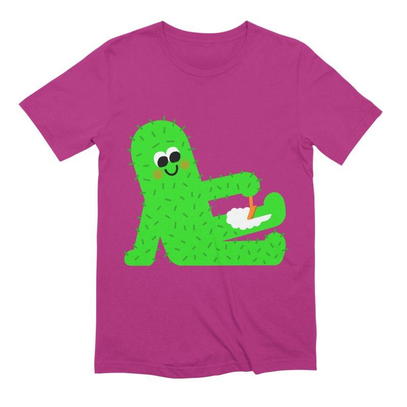 Spiky Legs Men's Extra Soft T-Shirt by Mauro Gatti House of Fun