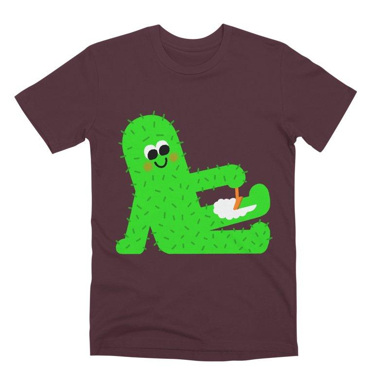 Spiky Legs Men's Premium T-Shirt by Mauro Gatti House of Fun