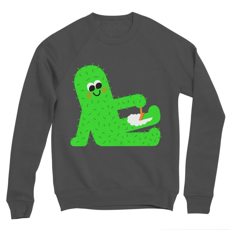 Spiky Legs Women's Sponge Fleece Sweatshirt by Mauro Gatti House of Fun