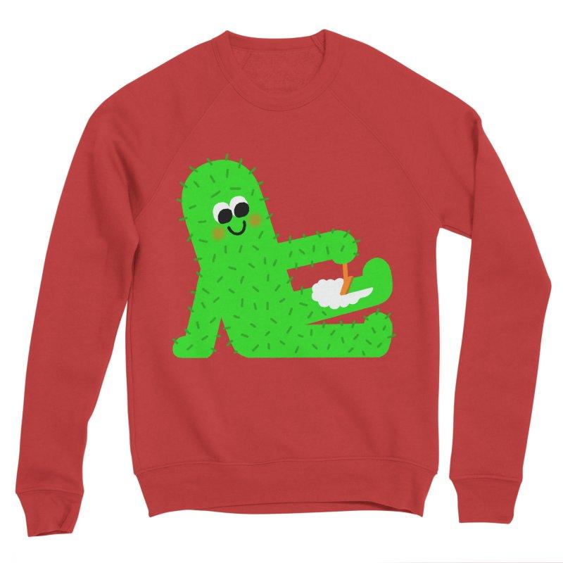 Spiky Legs Men's Sponge Fleece Sweatshirt by Mauro Gatti House of Fun