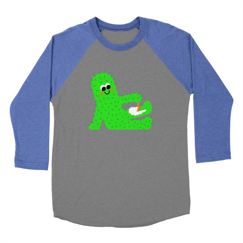 Spiky Legs Women's Baseball Triblend Longsleeve T-Shirt by Mauro Gatti House of Fun