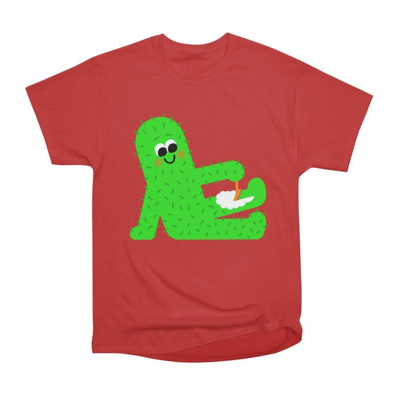 Spiky Legs Men's Heavyweight T-Shirt by Mauro Gatti House of Fun