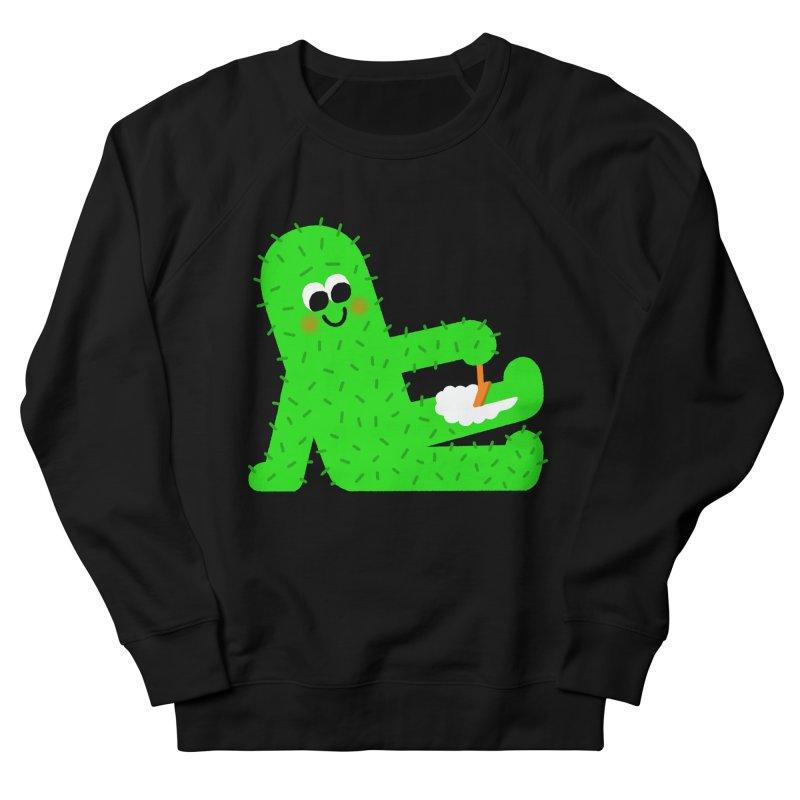 Spiky Legs Men's French Terry Sweatshirt by Mauro Gatti House of Fun