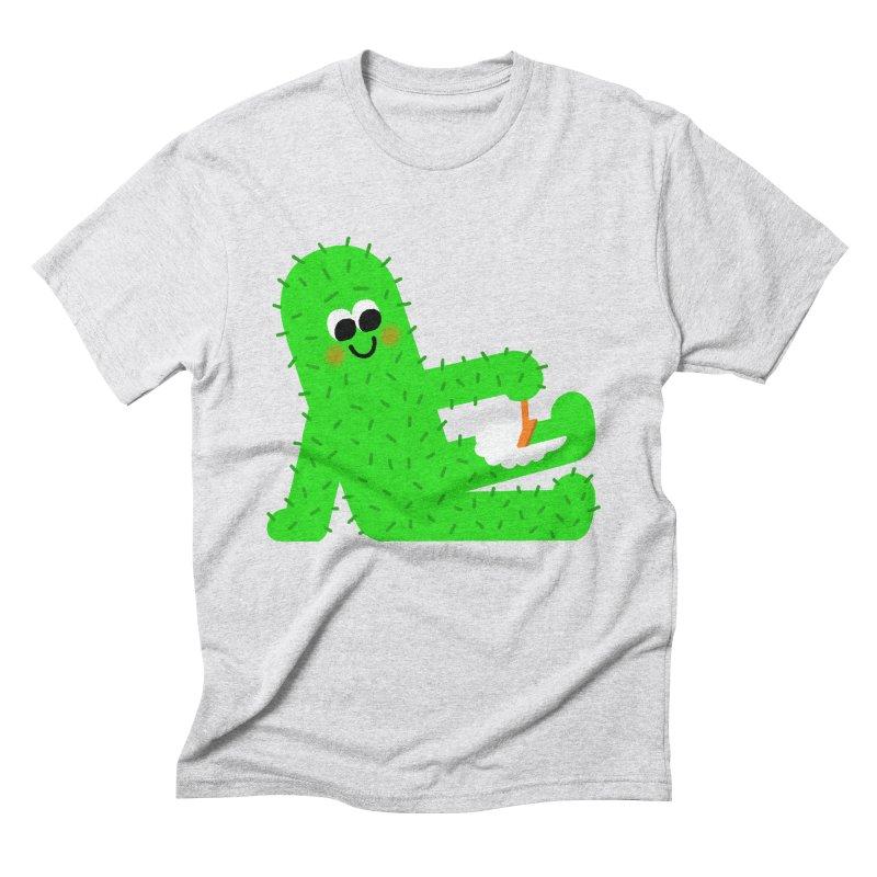 Spiky Legs Men's Triblend T-Shirt by Mauro Gatti House of Fun