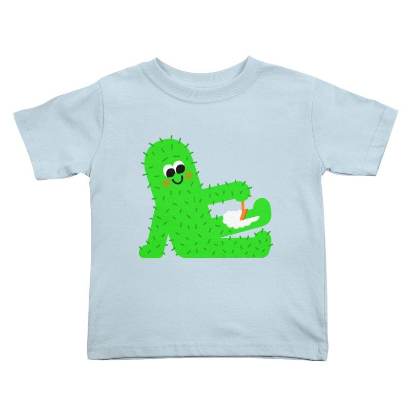 Spiky Legs Kids Toddler T-Shirt by Mauro Gatti House of Fun