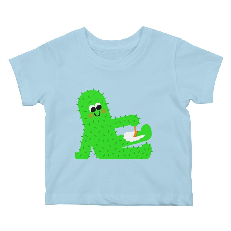 Spiky Legs Kids Baby T-Shirt by Mauro Gatti House of Fun