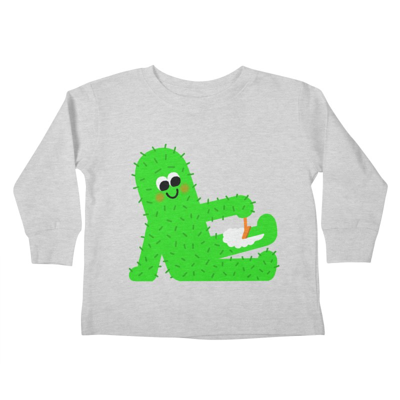 Spiky Legs Kids Toddler Longsleeve T-Shirt by Mauro Gatti House of Fun