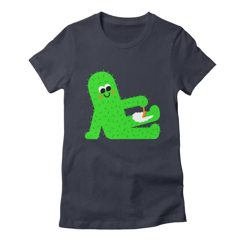Spiky Legs Women's Fitted T-Shirt by Mauro Gatti House of Fun