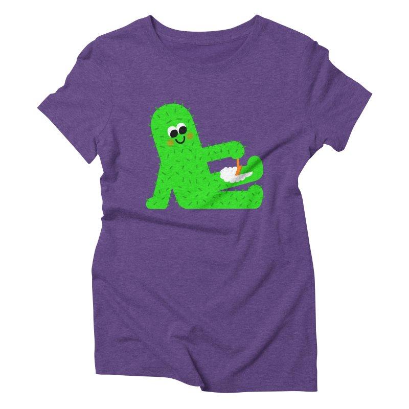 Spiky Legs Women's Triblend T-Shirt by Mauro Gatti House of Fun