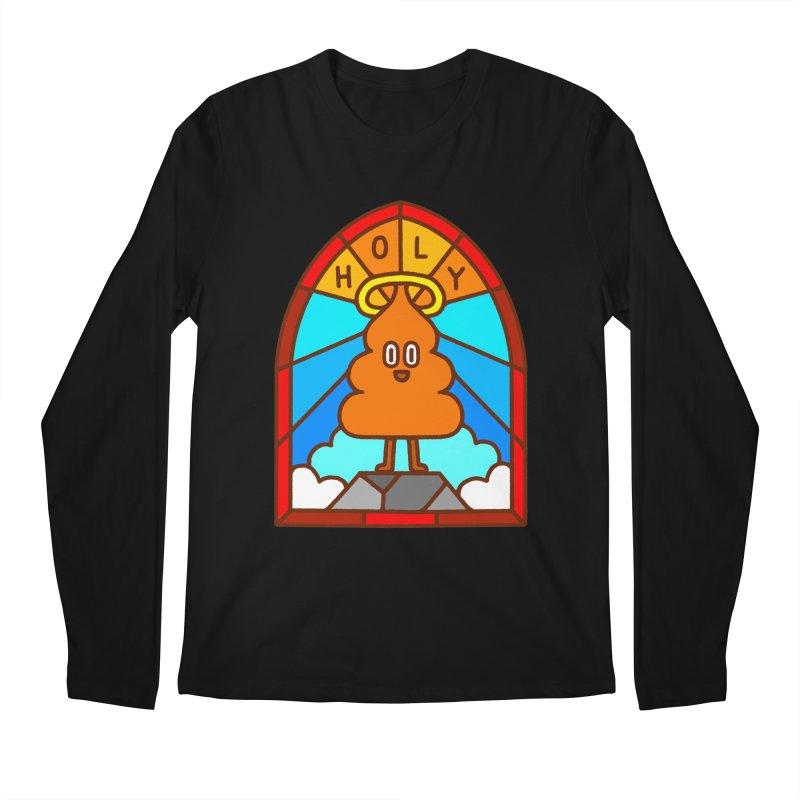 Holy S**t Men's Longsleeve T-Shirt by Mauro Gatti House of Fun