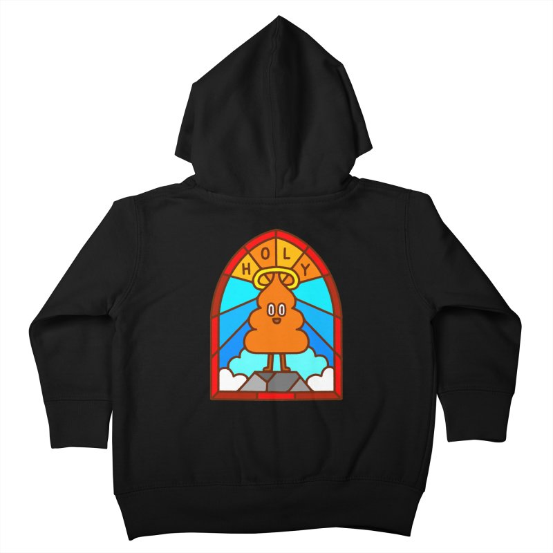 Holy S**t Kids Toddler Zip-Up Hoody by Mauro Gatti House of Fun