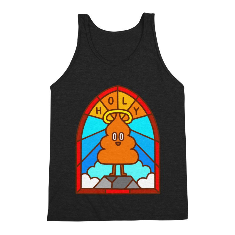 Holy S**t Men's Triblend Tank by Mauro Gatti House of Fun
