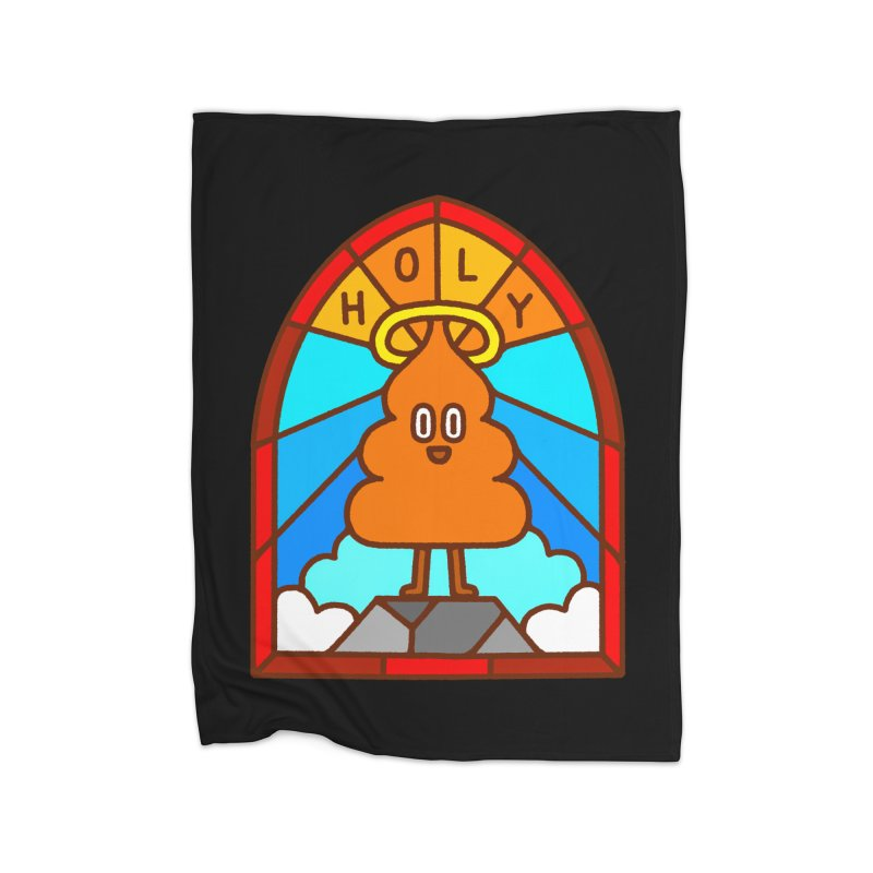 Holy S**t Home Fleece Blanket Blanket by Mauro Gatti House of Fun