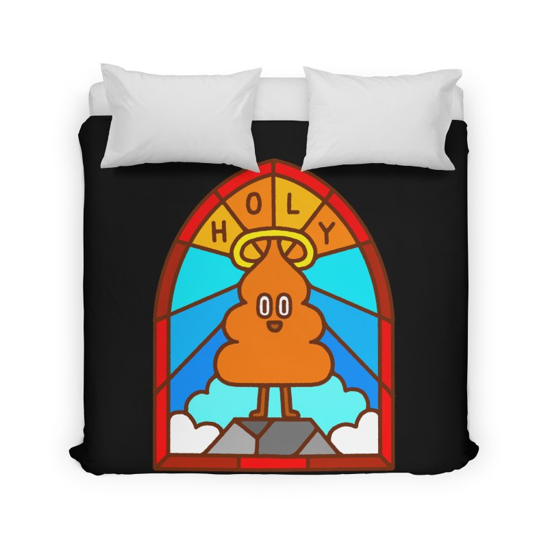 Holy S**t Home Duvet by Mauro Gatti House of Fun
