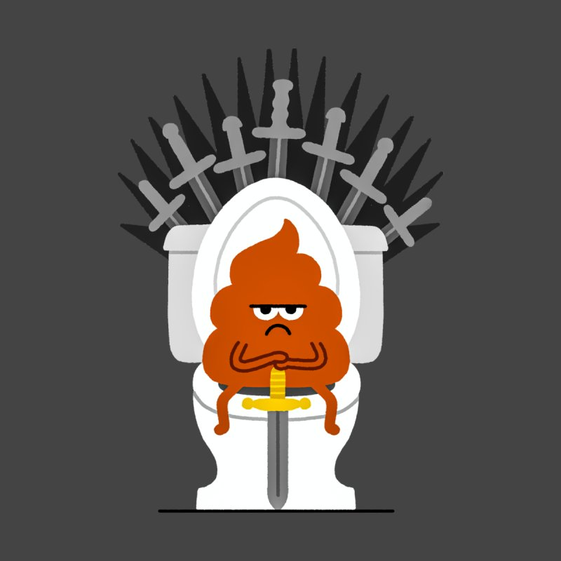 Game Of Toilets Kids T-Shirt by Mauro Gatti House of Fun