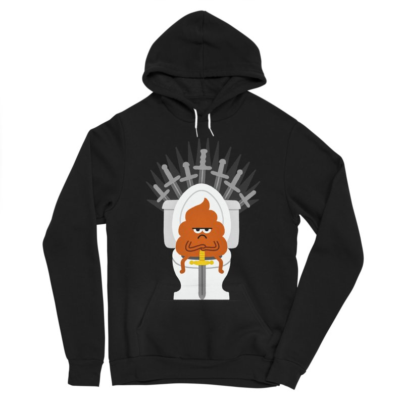 Game Of Toilets Men's Sponge Fleece Pullover Hoody by Mauro Gatti House of Fun