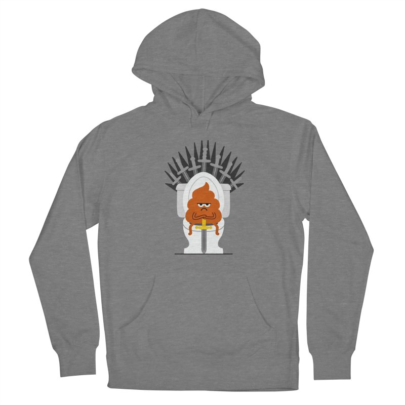 Game Of Toilets Women's Pullover Hoody by Mauro Gatti House of Fun