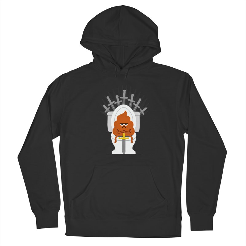 Game Of Toilets Men's Pullover Hoody by Mauro Gatti House of Fun