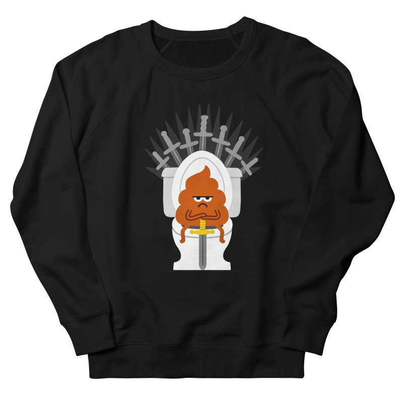 Game Of Toilets Men's Sweatshirt by Mauro Gatti House of Fun
