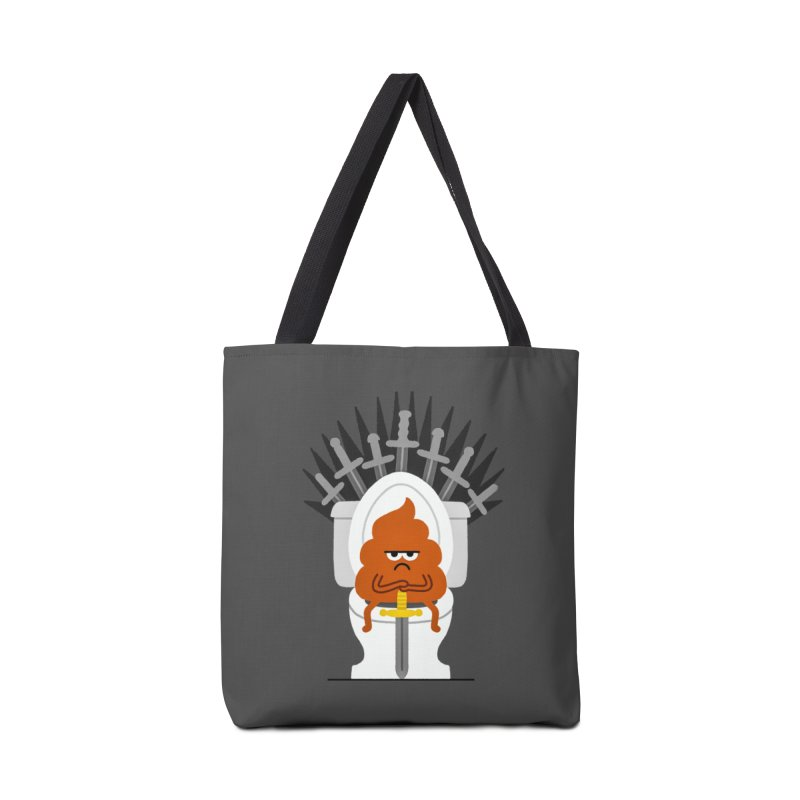 Game Of Toilets Accessories Tote Bag Bag by Mauro Gatti House of Fun