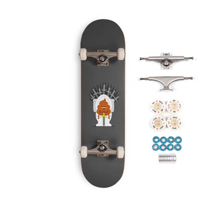 Game Of Toilets Accessories Complete - Premium Skateboard by Mauro Gatti House of Fun