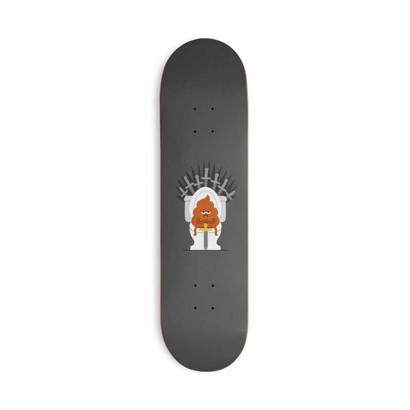 Game Of Toilets Accessories Deck Only Skateboard by Mauro Gatti House of Fun