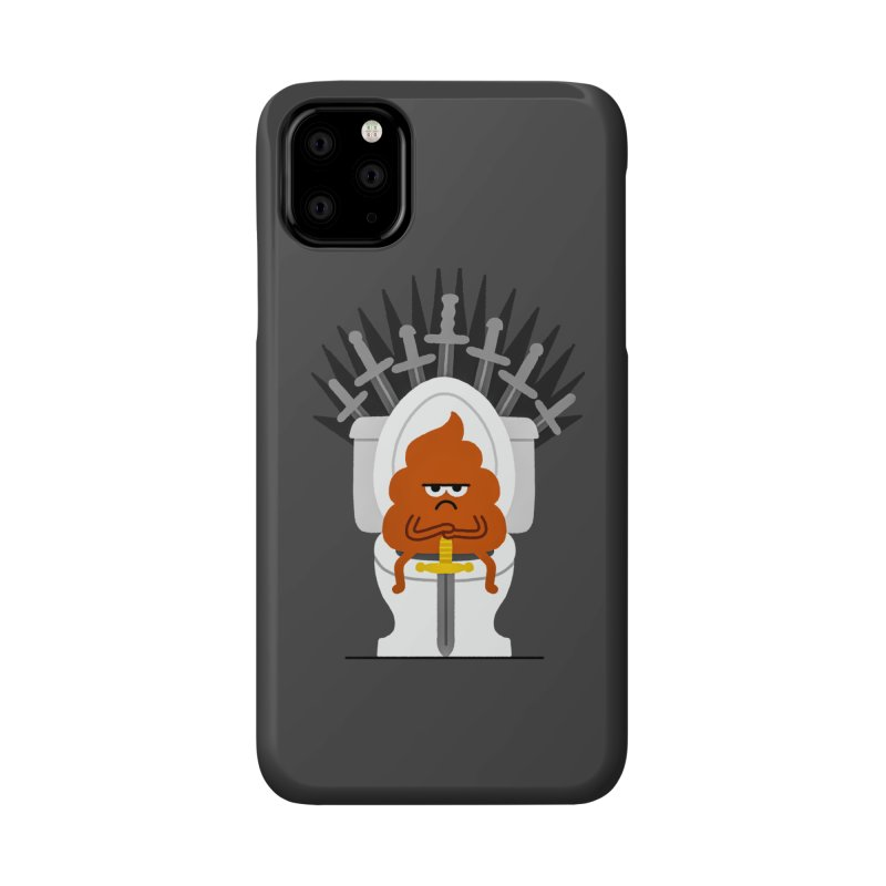 Game Of Toilets Accessories Phone Case by Mauro Gatti House of Fun
