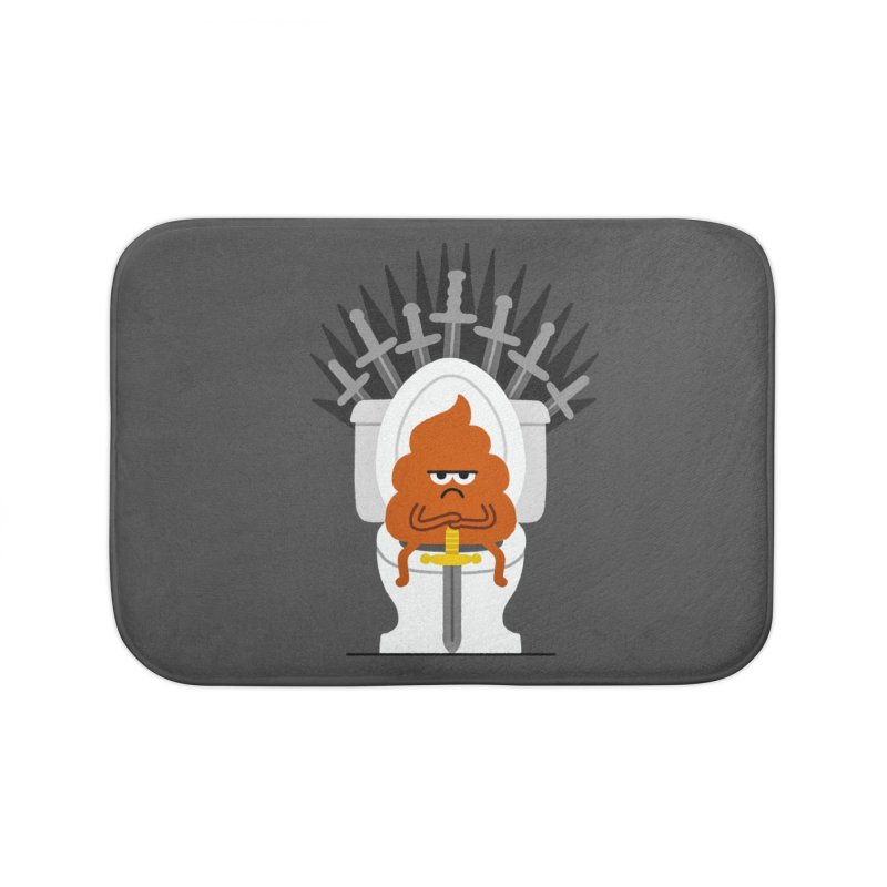 Game Of Toilets Home Bath Mat by Mauro Gatti House of Fun