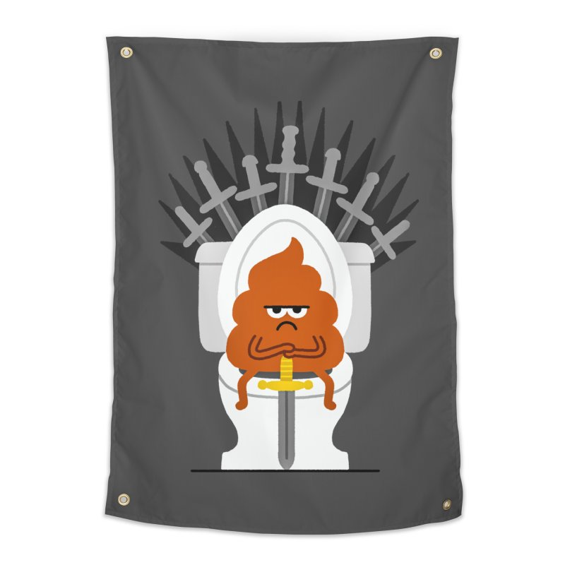 Game Of Toilets Home Tapestry by Mauro Gatti House of Fun