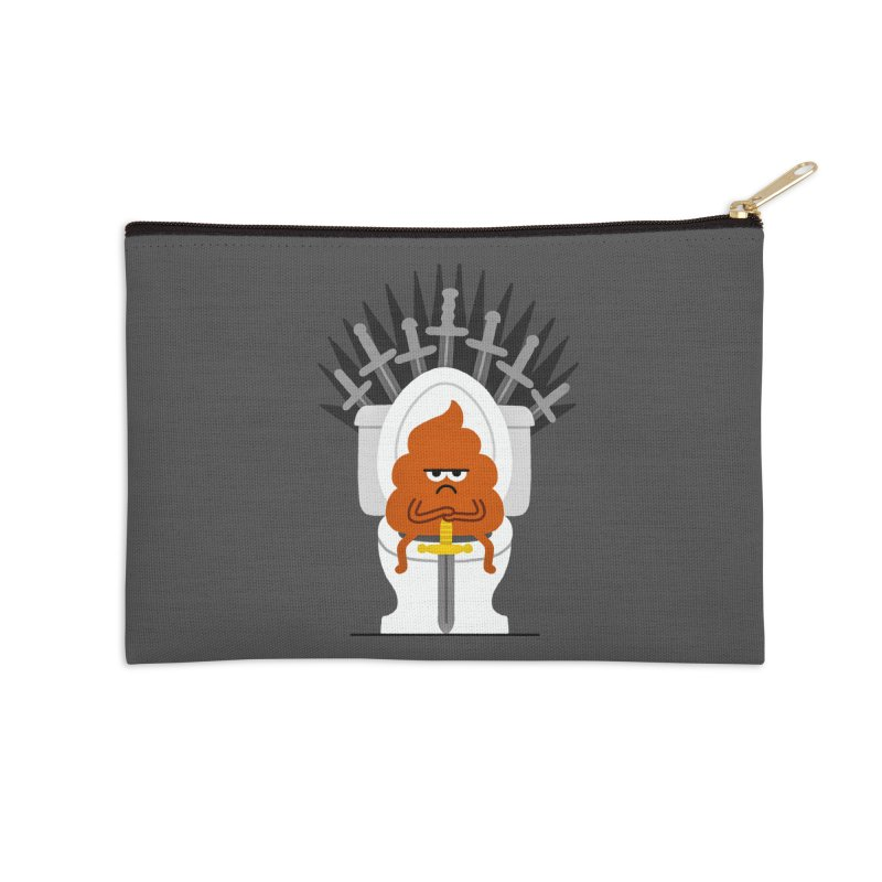 Game Of Toilets Accessories Zip Pouch by Mauro Gatti House of Fun