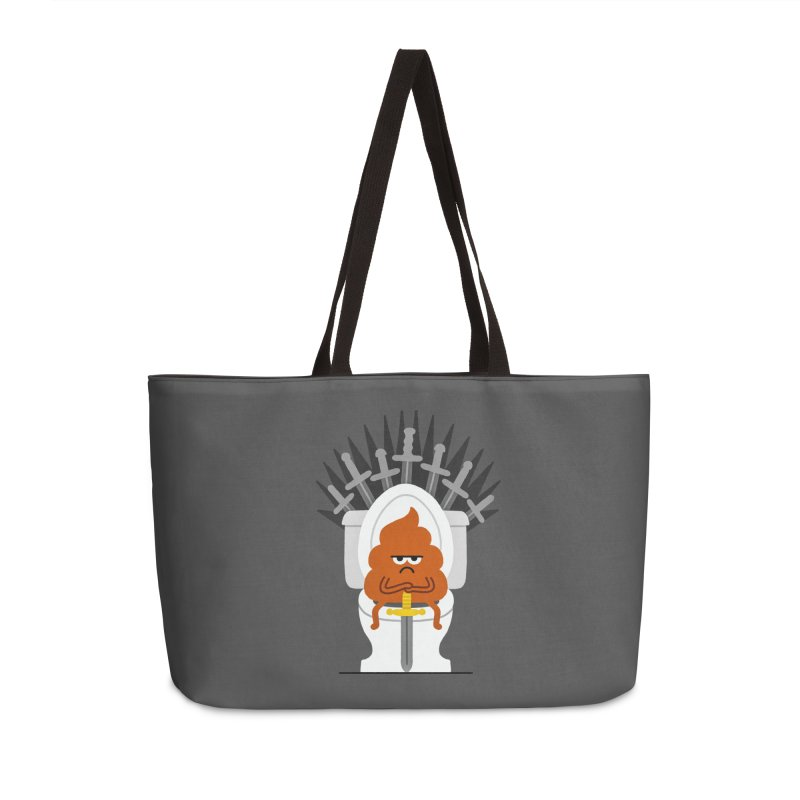 Game Of Toilets Accessories Bag by Mauro Gatti House of Fun
