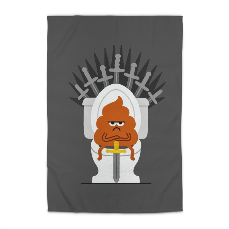 Game Of Toilets Home Rug by Mauro Gatti House of Fun