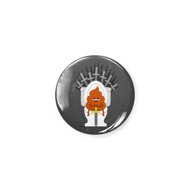 Game Of Toilets Accessories Button by Mauro Gatti House of Fun