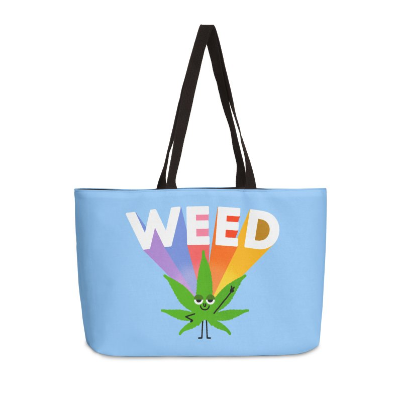 Weed Accessories Weekender Bag Bag by Mauro Gatti House of Fun