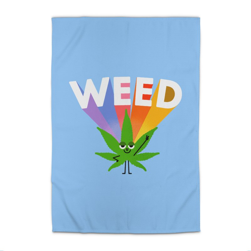 Weed Home Rug by Mauro Gatti House of Fun