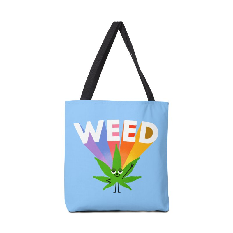 Weed Accessories Tote Bag Bag by Mauro Gatti House of Fun