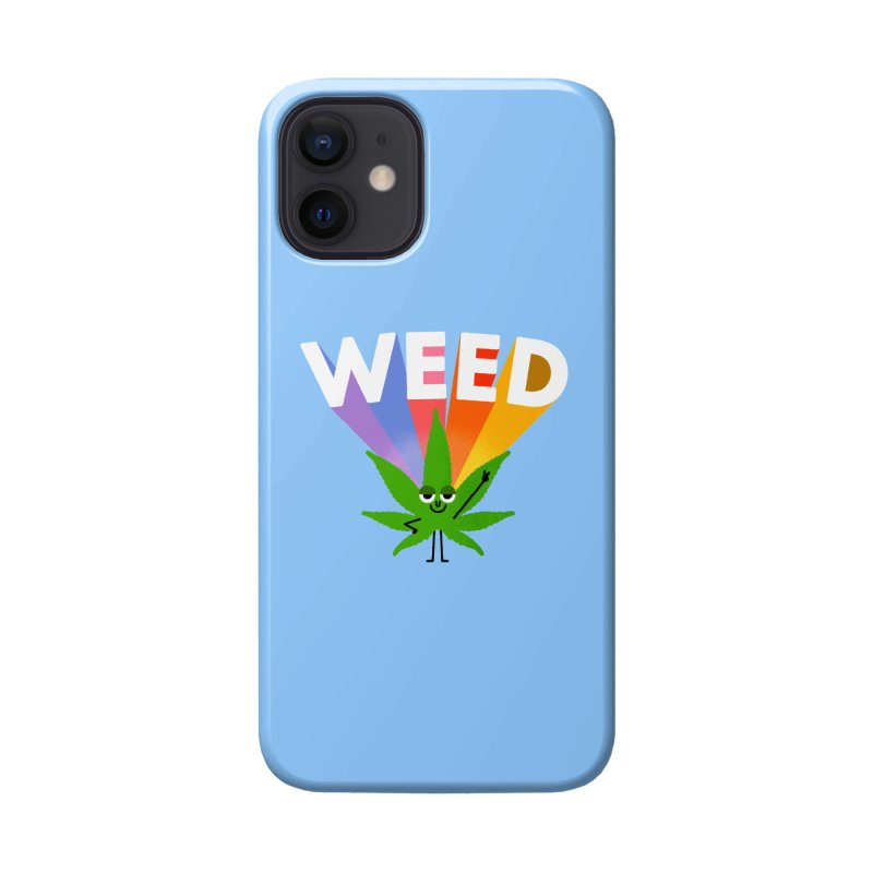 Weed Accessories Phone Case by Mauro Gatti House of Fun