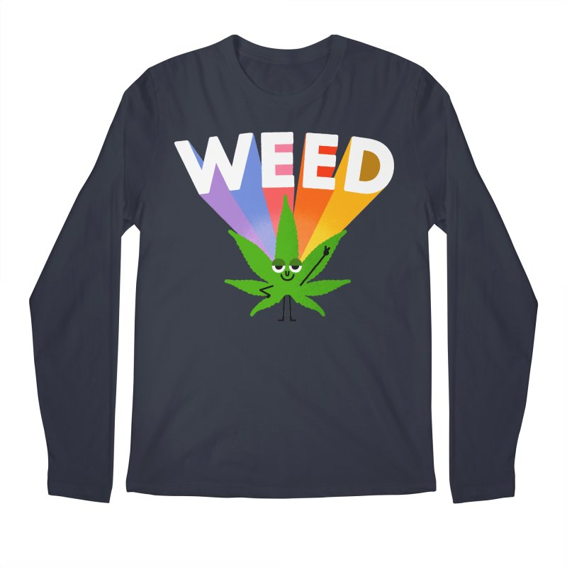 Weed Men's Longsleeve T-Shirt by Mauro Gatti House of Fun