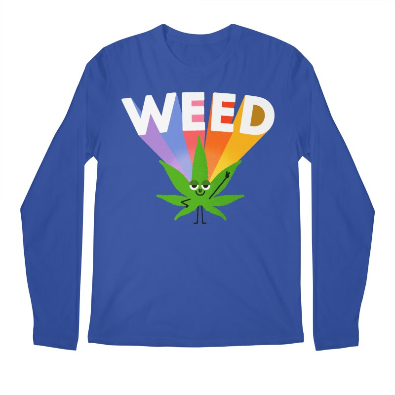 Weed Men's Regular Longsleeve T-Shirt by Mauro Gatti House of Fun