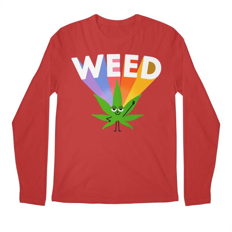Weed Men's Longsleeve T-Shirt by Mauro Gatti House of Fun