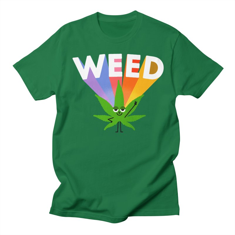 Weed Men's T-Shirt by Mauro Gatti House of Fun
