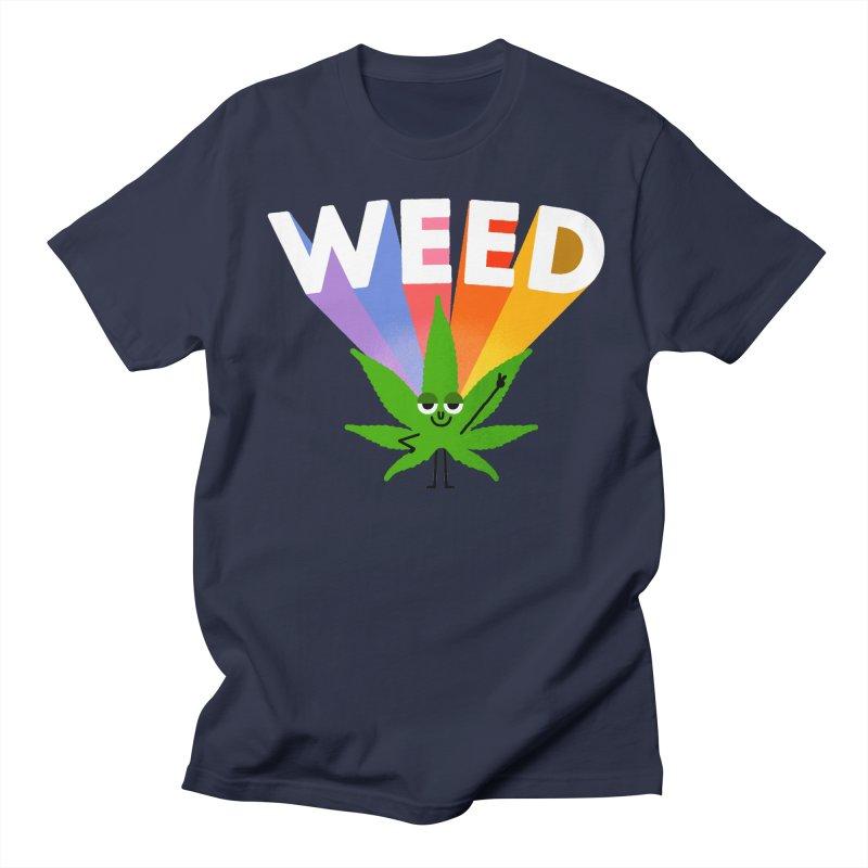 Weed Women's Regular Unisex T-Shirt by Mauro Gatti House of Fun