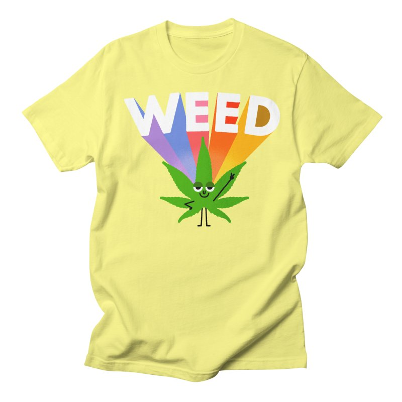 Weed Women's Unisex T-Shirt by Mauro Gatti House of Fun