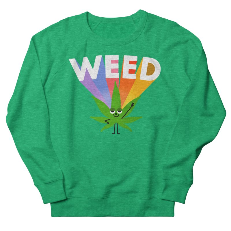 Weed Women's Sweatshirt by Mauro Gatti House of Fun