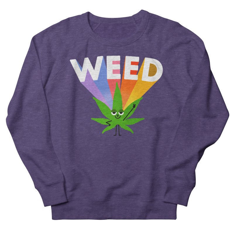 Weed Women's Sweatshirt by Mauro Gatti House of Fun