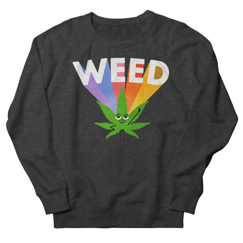 Weed Men's Sweatshirt by Mauro Gatti House of Fun